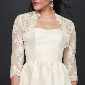 Lace Wedding Bolero Jacket